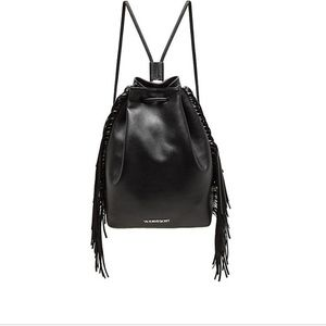 drawstring leather bag 🖤VS